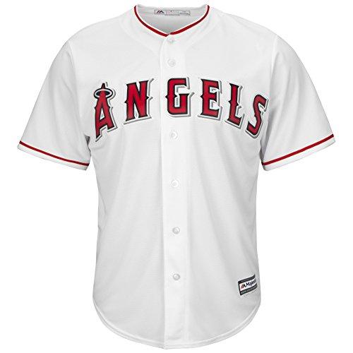 Majestic Los Angeles Angels Cool Base MLB Trikot Home (XL) (Baseball Bekleidung Angels)