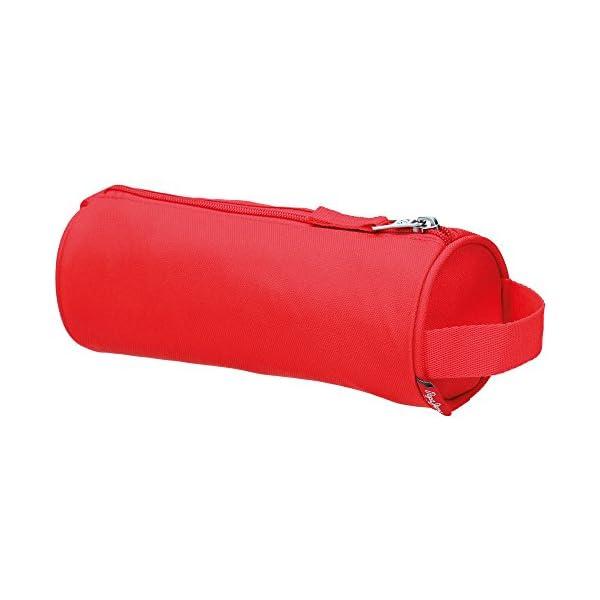Pepe Jeans Plain Color Neceser de Viaje, 1.86 litros, Color Rojo