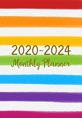 2020-2024 Monthly Planner: Five Years Monthly Calendar Planner (60 Months) For To Do List Journal Notebook | Academic Schedule Agenda Logbook Or ... & Monthly Calendar Planners Holidays, Band 3)