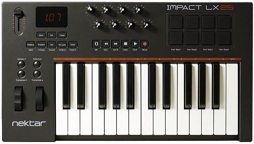 Nektar LX25 MIDI Keyboard (Cubase Artist 6)