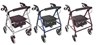 Aidapt Lightweight Rollator with Bag (Choose Your Colour)