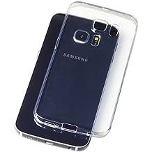 """Carcasa de gel B&L para Samsung Galaxy S6 Edge 5,1"""" funda protectora Transparente de silicona y TPU, ultrafina y delgada, protege la lente de la cámara, suave, flexible, evita polvo y arañazos, no amarillea"""