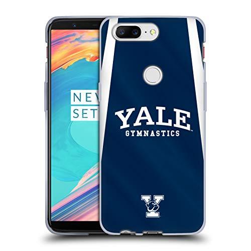 fizielle Yale University Gymnastik 2017/18 Jerseys Soft Gel Hülle für OnePlus 5T ()