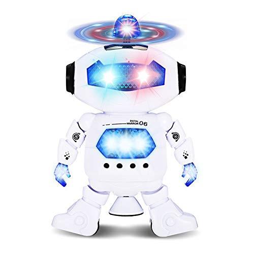 Dastrues Jungen Kinder Kinder Tanzender Roboter Infrarot Musik Spielzeug Weihnachten Geburtstag (Roboter Tanz Kostüm)