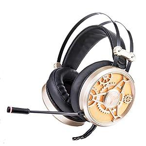 KARTELEI Gaming Kopfhörer Surround Stereo Sound Ergonomie Wired Alloy Headset für PC, Xbox One, PS4, Nnintedo Switch