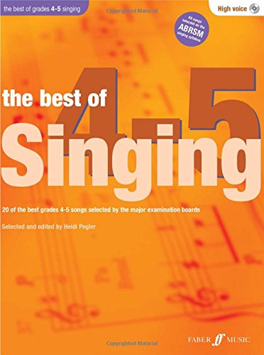 The Best Of Singing Grades 4-5 (High Voice) (With