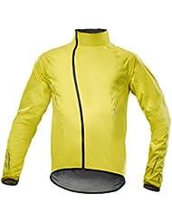 Mavic Cosmic Pro H2O bicicleta lluvia chaqueta Amarillo 2017, primavera/verano, color amarillo, tamaño M (48/50)
