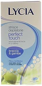 Lycia - 20 Strisce Depilatorie Gambe/Braccia