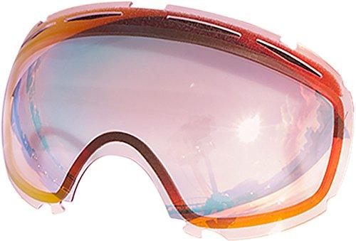 Lentes de repuesto para Oakley Canopy–Gafas antiventisca para nieve, Ruby Clear
