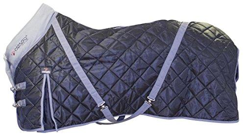 CATAGO Stable 100 g Teppich schwarz/grau, 145 cm