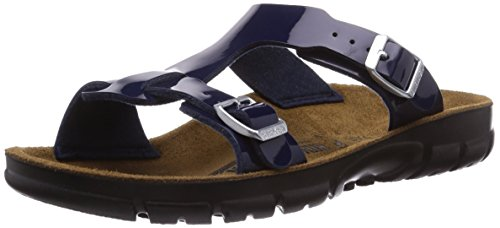Birkenstock Professional - SOFIA, Zoccoli da Donna, Blu(Blau (DRESS BLUE PATENT)), 42
