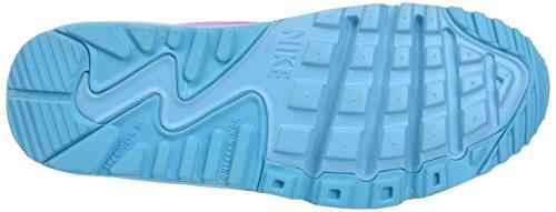 Nike Air Max 90 Br Gs, Scarpe da Corsa Bambina Multicolore (Pink Blast/Gamma Blue/Black)