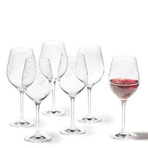 Leonardo Chateau Rotweinglas, 6-er Set, 510 ml, spülmaschinenfest, Teqton-Kristallglas, 061592