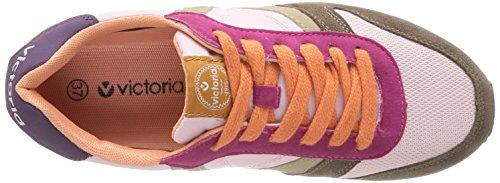 Victoria Jogger, Baskets mode mixte adulte Multicolore (Rosa)