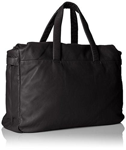 Liebeskind Berlin Ladies Yao Stitch Handbags, 38 X 29 X 16 Cm Nero (ninja Nero 9998)