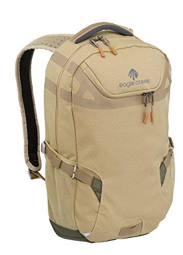 Eagle Creek Rucksack XTA Backpack mit gepolstertem Laptopfach und extra Fach für weitere elektronische Geräte, tan/olive