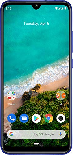 Xiaomi Mi A3 (Not Just Blue, 6GB RAM, 128GB Storage) - 6 Month No Cost EMI