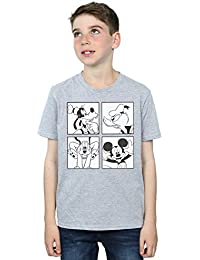 Disney Niños Mickey, Donald, Goofy and Pluto Boxed Camiseta