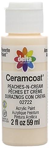 Plaid:Delta Ceramcoat Acrylic Paint 2Oz Peaches-N-Cream