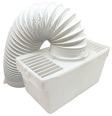 Lazer Electrics Indoor Condenser Vent Kit Box With Hose for Bush TDV6B TDV6S TDV6W Tumble Dryers