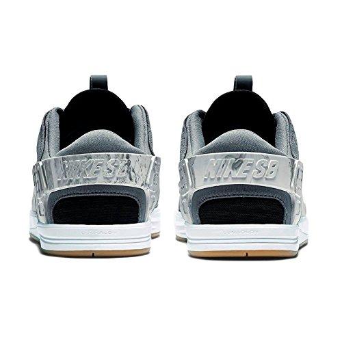 Nike Eric Koston Huarache, Chaussures de Skate Homme Cool Grey Black White Gum Light Brown
