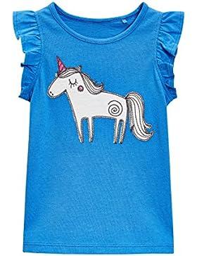next Niñas Camiseta De Unicornio (3 Meses-6 Años) Estándar