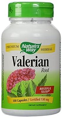 Nature's Way Valerian Root, 530 mg (100 Capsules)