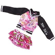 IPOTCH Set de Ropa Causal para Muñeca Alta de Monstruo/Barbie - Juguete Regalo para Niños