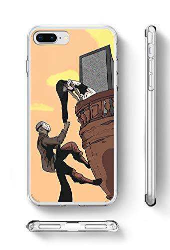 c rivera Sadako and Jason Funny Halloween Tangled Climb Morning Fanart Weiche TPU Silikon Hülle handyhülle für Samsung Galaxy S8 Plus