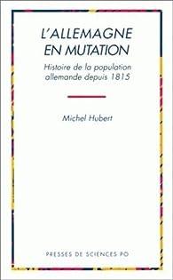 L'Allemagne en mutation par Michel Hubert