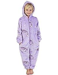 CityComfort Body Pyjama Grenouillères Enfant Fille Garcon Accessoires Licorne Lapin Pingouin Dinosaure Chat Chien Koala 2-14 Ans