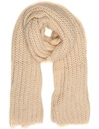 Sakkas Grecia Women's Solid Long Extra Soft Textured Winter Scarf