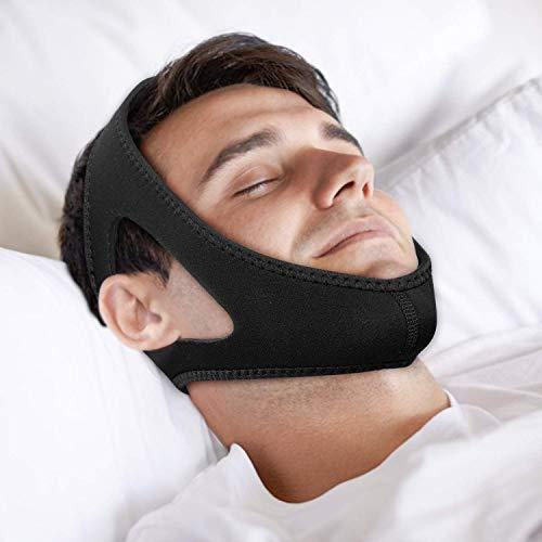 Anti-Schnarch-Kinnriemen, Schnarch-Lösung, Anti-Schlaf-Apnoe, Einstellbare Anti-Schnarch-Geräte, Besser Schlafhelfer, Für Männer Und Frauen