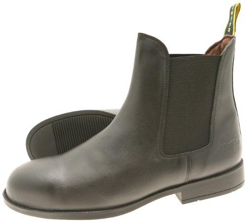 Tuffa Jodhpur-Stiefel Spartan, Stahlkappe schwarz schwarz Size 41 (Beute-shorts Für Frauen)