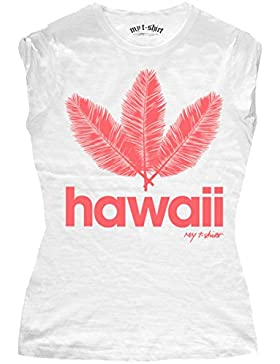 MY T-SHIRT Hawaii Foglie, Camiseta para Niños