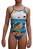 swimgo Swimmers Design maillot de bain d'entraînement pour filles, avec conception de Nageurs, Taille 2X S