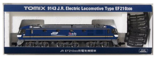 J.r. electric locomotive type ef210 – 300 (model train)