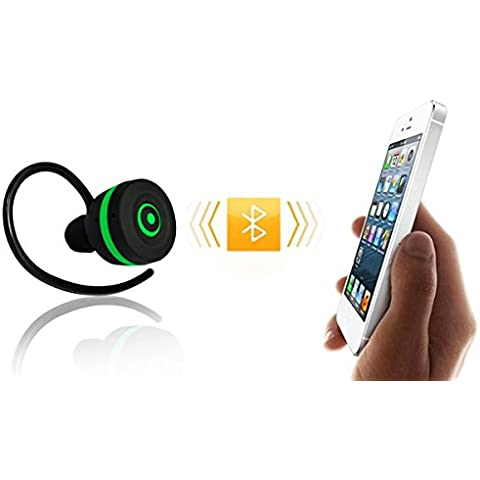 abcGoodefg® Bluetooth Wireless In Ear Auricolare Stereo auricolare per Apple