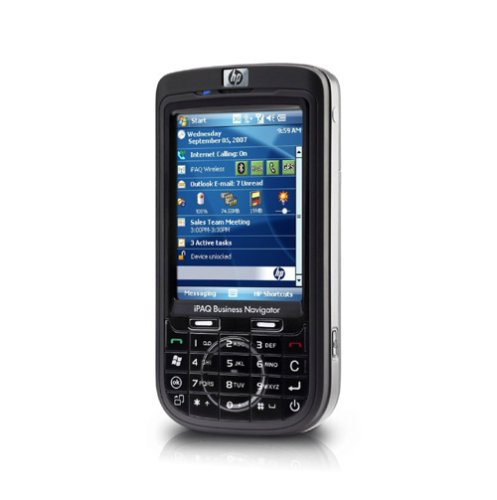 Hewlett Packard Bluetooth Ipaq Pda (HP iPAQ 614c Business Navigator Smartphone (GPS, Quadband, EDGE, Wlan, Bluetooth, QWERTZ-Tastatur, 3MP-Kamera) schwarz)