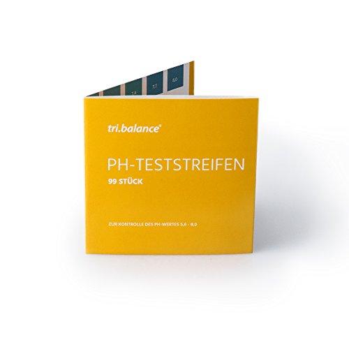 tribalance-ph-teststreifen-99-stck-messbereich-56-80-ph-fr-die-ph-wert-messung-im-urin-oder-wasser-z
