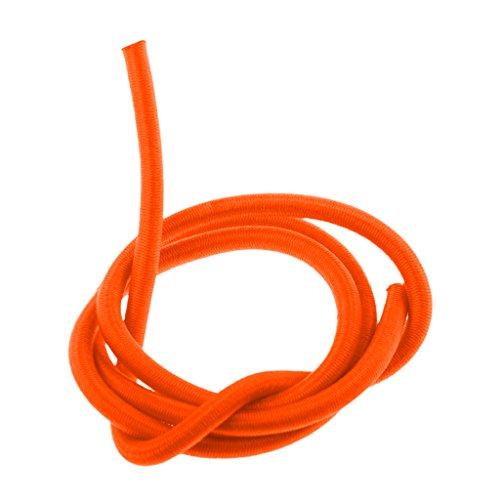 MagiDeal Elastische Bungee Rope Expanderseil Gummiseil Planenseil Spannseil Ø 4mm Gummileine