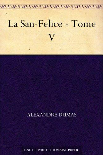 Couverture du livre La San-Felice - Tome V