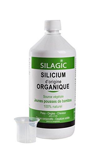 Silagic Silicium Organique Source Végétale 1 Litre