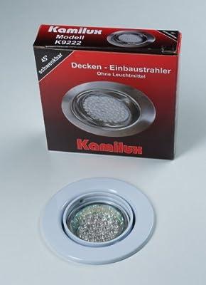 4 x LED Einbauleuchte 20er LED-Spot Tom weiss 230V Warmweiss von Kamilux GmbH auf Lampenhans.de