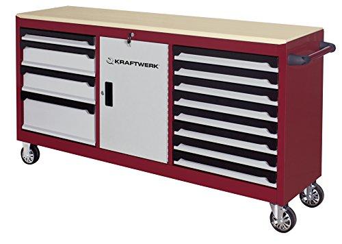 Kraftwerk–Extra Largo Werkbank Rollstuhl/servante D Atelier extralang Kraftwerk