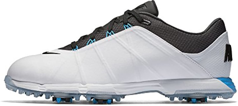 Nike Lunar Fire - Zapatillas deportivas de golf para hombre, color blanco, talla 40.5