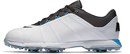 Nike Herren Lunar Fire Golfschuhe, Weiß (White/Anthracite/Photo Blue), 42 EU Nike Schuhe Damen Golf