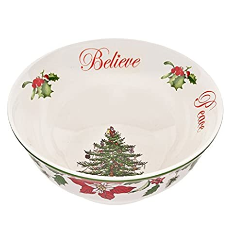 Spode Spode Christmas Tree Annual Edition 2014 Revere Candy Bowl, , Multi by Spode