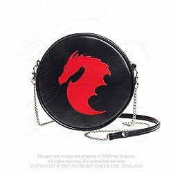 Bolso redondo bandolera Dragon round handbag Alchemy GB6