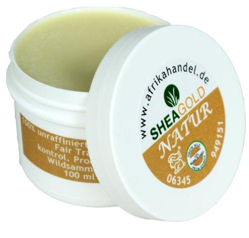SheaGold Sheabutter kalt gepresst unraffiniert 80gr.